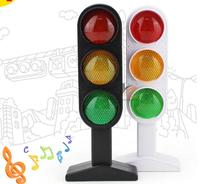 1pcs Time-limited New Trains Slot Kid toys Child Traffic Light Signal Lamp Toy Mini Cars Electric Railway Brinquedos Puzzle
