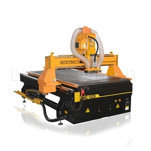 New design wood furniture design cnc router machine with dust collector for 3d relief(China)