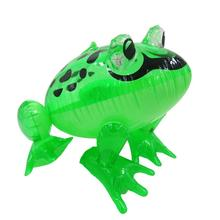 Peradix 1Pcs Inflatable Frog with Light Line Toys PVC Inflatable Animal Balloons Classic Blow Up Toys Annual Events Game Toys(China)