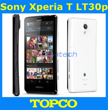 Original Sony Xperia T LT30P unlocked mobile phone Sony LT30p 16GB Dual-core 3G GSM WIFI GPS 4.55'' 13MP Smartphone dropshipping