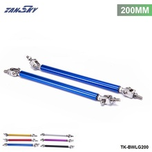 TANSKY - 2Pcs/SET 200mm Front Rear Bumper Protector Lip Rod Splitter Strut Tie Bars Support Kit TK-BWLG200