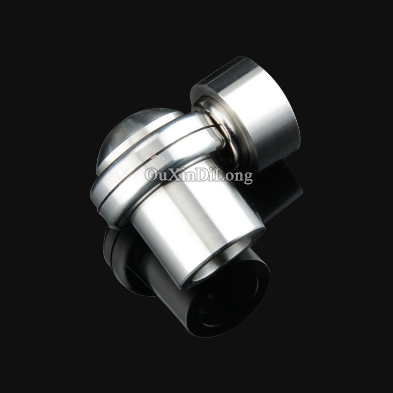 Top Quality 2PCS/LOT 304 Stainless Steel Casting Magnetic Door Stops Home/Office Powerful Door Stopper Holder Catch Sliver Tone<br>