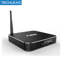 Metal Case Amlogic S905x Quad Core Andorid 6.0 Set Top Box Receiver 2GB/8GB 2.4G/5GHz Dual WiFi Networking Media Player 4K BT4.0