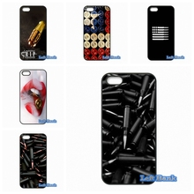 Loose Gold Bullets gun Bullet Phone Cases Cover For Huawei Honor 3C 4C 5C 6 Mate 8 7 Ascend P6 P7 P8 P9 Lite Plus 4X 5X G8