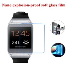 Nano Explosion-proof (Soft Glass) Clear Screen Protector Front Protective Film for Samsung Galaxy Gear V700