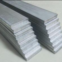 6061 T6 aluminium flat bar all sizes in stock CUSTOMIZED length aluminium alloy bar rod shaft