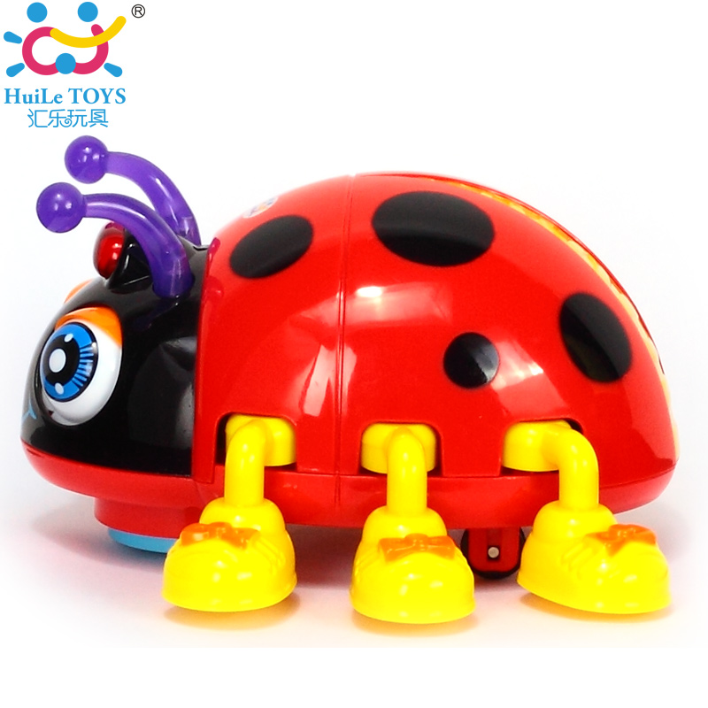 Cartoon Electric Ladybug Bee Baby Learning To Crawl Educational Toys With Music Light Infant Beetle Baby Toy Educational Toys<br><br>Aliexpress