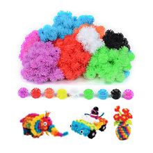 400/700Pcs Thorn Ball  Magic Puffer Ball DIY Assembling Toys  Assemble Creative Blocks Squeezed Educational Handmade Toys(China)