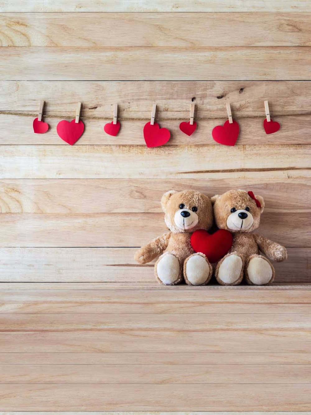 Wood Photography Backdrop 5x7 Small Red Heart Teddy Bear Background for Kids Birth Party  Photography Photo Booth for Newborn<br><br>Aliexpress
