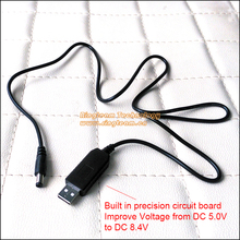 DC 5V USB Cable Built-In Mini Adapter Improve Voltage for AC-PW20 Canon DR-E6 (ACK-E6) DR-E18 (ACK-E18) DR-400 DR-E2 DC Coupler