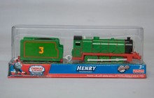 Henry train, Electric Thomas And Friend Trackmaster Engine Motorized Train - Henry & Truck , Plastic Toy Train
