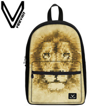 VEEVANV Brand 2017 Tiger Image Book Backpack Fashion 3D Prints Backpacks for Teenagers Girls Boys School Student Female Backpack
