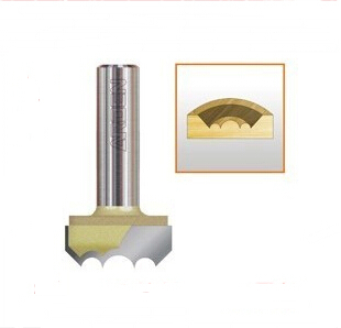 1 / 2 * 1-3 / 8-inch  woodworking engraving and milling cutter machine double arc ball cutter<br>