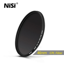 NiSi 46mm CPL Dus Slim Professional Ultra Thin C-PL Filter Polarizer Filter 46mm Circular Polarizer Filter Free Shipping(China)