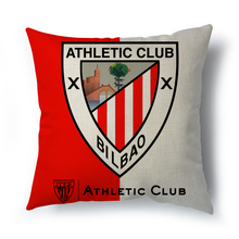 2017 Madrid real athletic bilbao cushion cover decorative pillow cases home for living room real betis zaragoza pillows 45x45cm