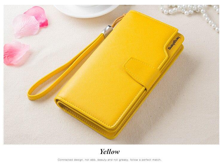 HTB1TW12SFXXXXa1XpXXq6xXFXXXp - 2018 new fashion women wallet leather brand wallets women wholesale lady purse High capacity clutch bag for women gift
