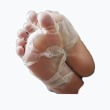 Hot Exfoliating Foot Mask Socks For Pedicure Socks For Feet Peeling Baby Foot Mask Health Care Skin Care Feet Dead Skin Removal(China)