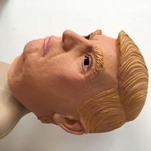 Donald Trump Presidential Cosplay Mask Latex Fabric High Quality Halloween Party Mask