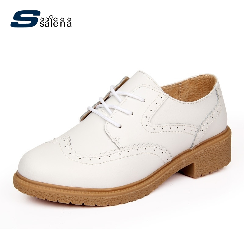 Women Flats Leather Summer Breathable Female Designer Oxfords Non-Slip Summer Shoes AA40020<br>
