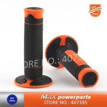 "Deals 7/8"" 22mm Rubber Motorcycle HandleBar handle bar Motorbikes Hand Grips For KTM DUKE 125 200 390 690 1290 R With KTM LOGO(China)"