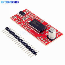 1Set EasyDriver Shield Stepping Stepper Motor Driver V44 A3967 For Arduino Support 4/6/8 Wire Steppers 7V-30V