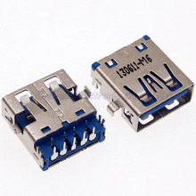 5pcs/lot For Lenovo Dell HP etc  motherboard 3.0 USB interface USB 3.0 Connector copper down
