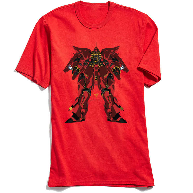 Sinanju MSN 06S Men Designer Casual Tops T Shirt Crew Neck Fall 100% Cotton Fabric T-shirts Printing Short Sleeve T Shirts Sinanju MSN 06S red