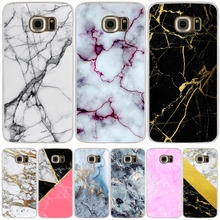 marble gold pink black white cell phone case cover for Samsung Galaxy A3 A310 A5 A510 A7 A8 A9 2016 2017