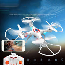 Drone Camera RC Helicopter drone with camera and 4 Axis quadcopter For Photographer Wifi Camera