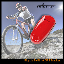 Waterproof Motorcycle Bicycle GPS Tracker Bike Taillight Wireless Anti Lost GPS Finder Low Energy Vehicle Tracker(China)