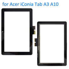 ALANGDUO Original for Acer iConia Tab A3 A10 A3-A10 A3 A11 Tablet Touch Screen Digitizer Front Panel Replacement Touchscreen