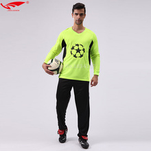 2017 Men goalkeeper uniforms Top Quality Soccer Goalkeeper sets Jerseys for Adult Goalkeeper suit New(China)