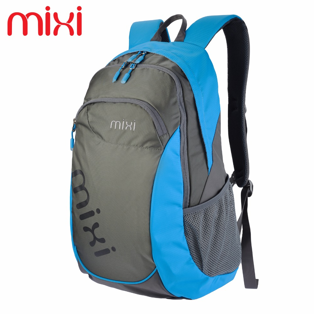 Mixi 2016 Foldable Outdoor Backpack Waterproof Women Men Unisex Leisure Bags Sport Hiking Rucksack Travel Backpacks 35L(China (Mainland))