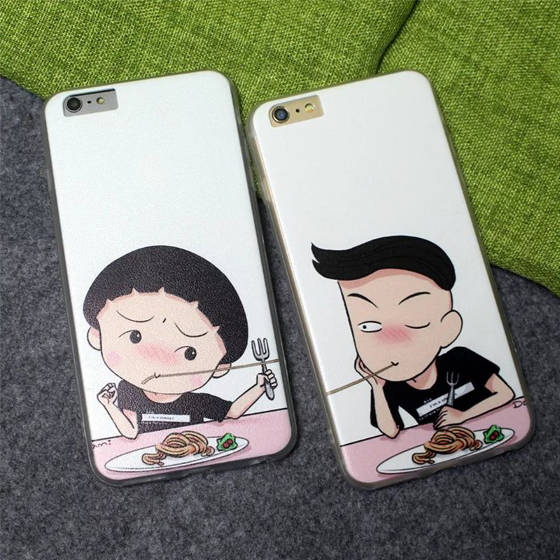 Chi bi Maruko cartoon silk hard pc back phone font b case b font lover couple