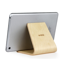 2016 Hot Sale Samdi Tablet Wooden Stand For iPad Holders Birch Wood Bracket for iPhone Tablet Samsung Xiaomi Pad