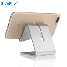 RAXFLY 2017 Universal Phone Table Holder For iPhone 7 6 6s Plus 5 5S For iPad Air Mini Aluminum Holder For Xiaomi Huawei HTC LG(China)