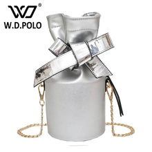 WDPOLO New design jelly women candy bag color super chic bags easy fashion young lady summer stylish girls cross body bags Z1148