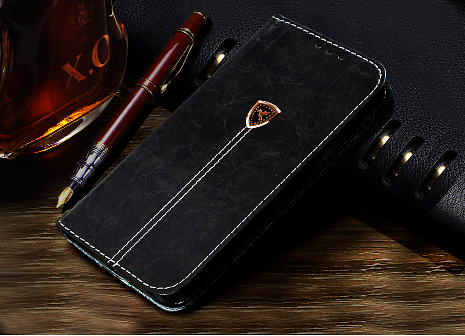 NKOBEE For iPhone X Wallet Case Luxury Case For iPhone X Case Leather Flip Book Cover For iPhone X Stand Case Coque Card Holder (1)