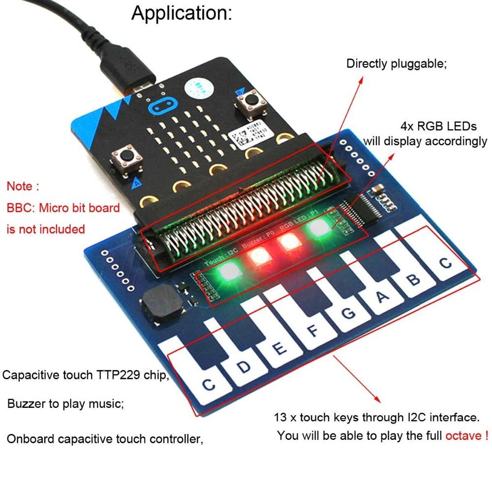 Mini Piano Module for BBC microbit (2)
