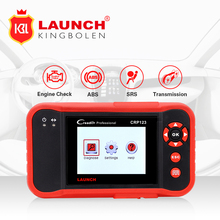 Promotion Launch CRP123 Update Online LAUNCH X431 Creader CRP 123 ABS, SRS, Transmission and Engine Code Scanner creader vii+(China)