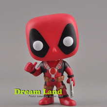 Original Marvel Deadpool Thumb Up #112 Bubble head Figure Toys Gift Funko pop Vinyl
