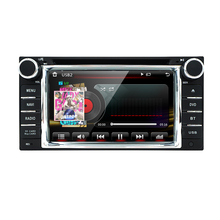 2 DIN Car Monitor DVD GPS for Toyota Terios Old Corolla Camry Prado RAV4 Universal Bluetooth Capacitive 800*480 DAB STEETING WHE(China)