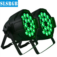 2pcs/lot LED Par Light 18x12W RGBA DJ Lights for Party Nightclub Stage Concert Church LOT DJ PAR 64 18x12W LED LIGHT RGBA 4in1(China)