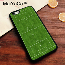 MaiYaCa Football Field Soft TPU Skin for Apple iPhone 7 Cover Coque Case for Apple 7 Printed Cover for iPhone7 Case(China)