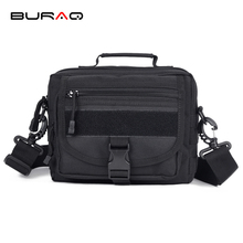 Cordura Nylon MOLLE Military Messenger Bags Multifunctional Military SLR Camera Bags Tactics Utility Shoulder Bags