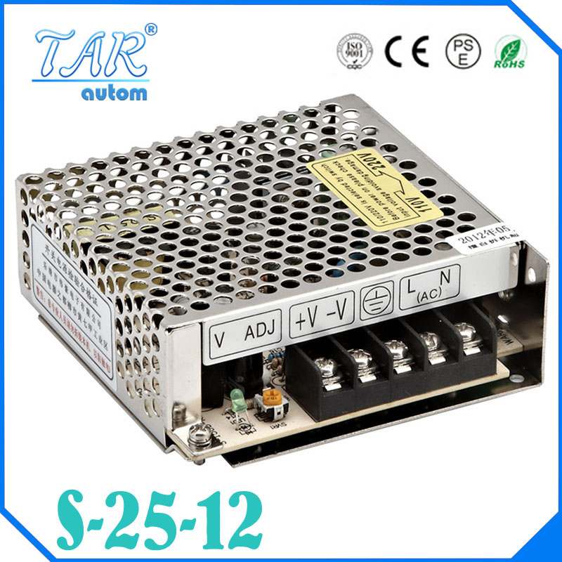 Best quality 12V 2.1A 25W Switching Power Supply Driver for LED Strip AC 100-240V Input to DC 12V free shipping<br><br>Aliexpress