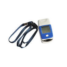 New Arrival Home Moniter LCD Fingertip Pulse Oximeter - Spo2 Monitor + Protective Case Shipping From USA(China)