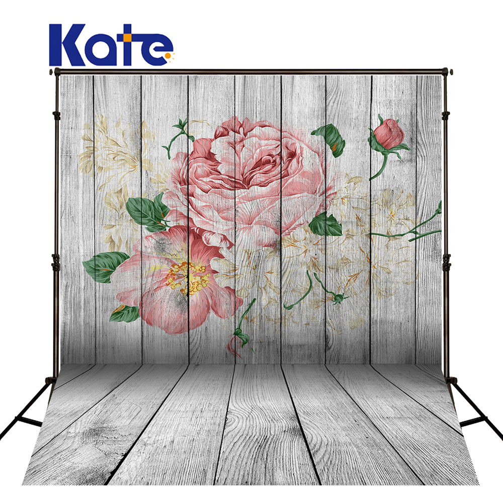 Kate Happy Mothers Day Photography Backdrops White Wood Wall Backgrounds Large Size Seamless Photo  for Photos studio shoot<br>