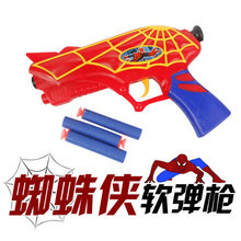 Soft Bullet Toy Gun Sniper Rifle Plastic Gun & 3 Bullets Sprider man Gun Toy Christmas Birthday Gift Toy For Child