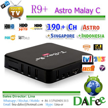 Quality Stable IPTV 4K Android TV Box HDTV Malaysian Indonesia Live TV Show 1 year free Total 180+ Channels Free Trial DHL Ship